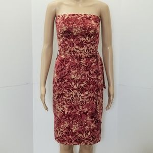 Charlotte Russe Small strapless floral dress